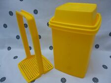 Tupperware Extra Large 2L Square Pick a Deli Beetroot Keeper Yellow New