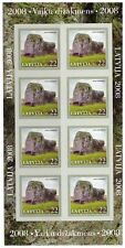 s1816f) LATVIJA LETTLAND LETTONIA 2008 MNH** Nature Protection s-a MS