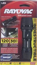 Rayovac Virtually Indestructible 250 Lumen 3AAA LED Flashlight with Batteries