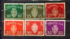 1937 Offentlig Sak Norway Nice Stamps Lot 1