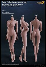 1/6 Phicen Super-Flexible Steel Skeleton Seamless Suntan Large Bust S09C Body