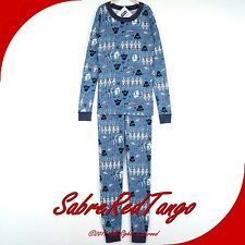 NWT HANNA ANDERSSON ORGANIC LONG JOHNS PAJAMAS STAR WARS LOVE BLUE 140 10