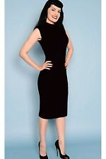 Wiggle Dress 14 Black Wiggle Dress size 14 Sleeveless dress 14 Pencil dress 14