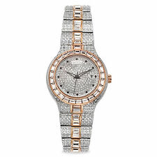Croton Men's CN307540TTPV Stainless Steel Rose Gold Watch