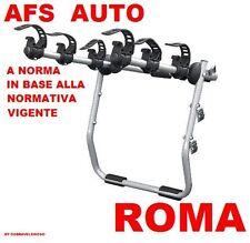 PORTABICI POSTERIORE 3 BICI X ALFA ROMEO 159 STATION WAGON 2007 BICI UOMO DONNA