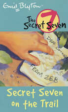 NEW (4) SECRET SEVEN ON THE TRAIL  ( SECRET SEVEN book )  Enid Blyton COLOUR