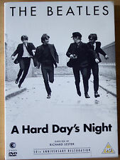 VGC! THE BEATLES - A HARD DAY'S NIGHT - FULLY RESTORED VERSION! (2 DVD SET) days
