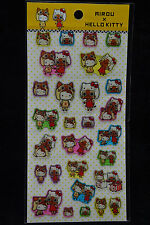 Sanrio Monster Hunter Airou x Hello Kitty Epoxy Stickers Sticker