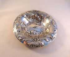 """Beautiful Alvin Sterling Floral Bowl #1106-6 1/2"""""""