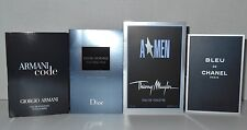 Men`s Cologne Samples Lot Bleu De Chanel A*men Dior Homme Cologne  Armani Code