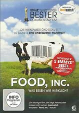 FOOD, INC. documentary DVD German version 2010 commercial industry corporate