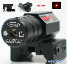 Tactical Red Dot Laser Sight Scope for Gun Rifle Pistol Picatinny Mount 11/20mm
