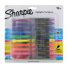 """""""Sharpie Accent Liquid Pen Style Highlighter, Chisel Tip, Assorted, 10/set"""""""