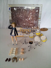 Tainaka Ritsu figma #060 K-On! Max Factory 2010 Action Figure Complete