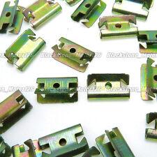 35 U Type Snap-On Clip Trim Fastener Zinc Plated Metal Cip Fastener 20.2*12.3mm