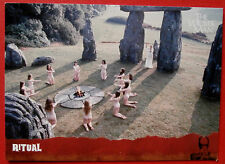 The wicker man carte # 16-rituel-imparable cartes 2014