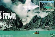 Coupure de Presse Clipping 1991 (9 pages) Philippines,le cratère Pinatubo