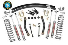 Jeep XJ Cherokee 4.5 inch Lift Kit w/ N2.0 Shocks, 623N2, *SAME DAY SHIPPING*