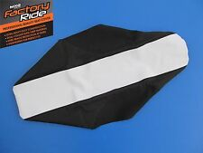 YAMAHA YZF 250 YZF250 YZ250F 2010 2011 SEAT COVER BLACK WHITE GRIPPER SEATCOVER