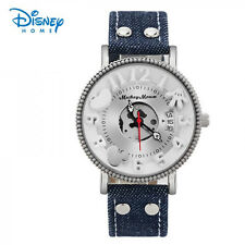 High Quality Luxury Military Mickey brand watch (blue strap)