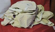 LOT OF 21 WHITE SPEEDO SILICONE BUBBLE SWIM SWIMMING CAP