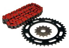Yamaha YFZ 450, 2004-2013, Red O-Ring Chain and 14/38 Sprocket Set