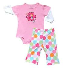 "Carter's 2-piece Bodysuit & Pull-On Pants Set ""Cute"", Size: 9 months"