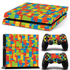SKIN PS4 PROTECTION DECOR LEGO BRIQUES PLAYMOBIL AUTOCOLLANT STICKER PS4S022