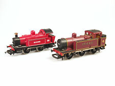 LOT OF 2 HORNBY  OO MODEL RAILWAY TRAINS - 'ROGER' & 'LMS 0-6-0T 16440'