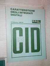 CARATTERISTICHE DEGLI INTEGRATI DIGITALI Johannes Gies GBC 1986 tecnica scienza