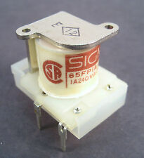 Sigma 65FP1A-12DC SPDT Relay: 12V Coil: 1A/240VAC/24VDC: Great Price!!
