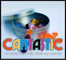 CAN TASTIC Mental Magic Trick Metal Tin Color Beads Wand Gem Prediction Close Up
