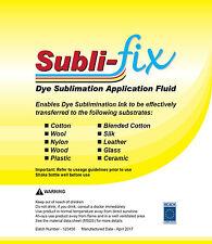 A4 Dye sublimazione subli FIX Cotone Rivestimento FLUIDO 100% + GRATIS CARTA 10 fogli