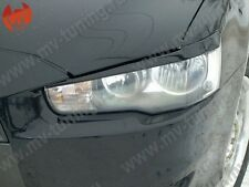 Mv-Tuning Front Eyelids Eyebrows Headlights Covers Mitsubishi Lancer 10 X