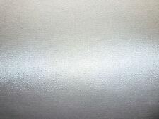"Silver Sturdy Satin Fabric 12"" x 8"" Sample Piece 99p Wedding Shoe Fabric"