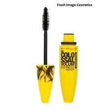 Maybelline volum express colossal mascara intense smoky black new carded