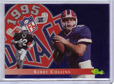 1995 Classic Images Draft NFL Draft Challenge #DC21 Kerry Collins Buffalo Bills