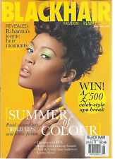BLACK HAIR,   JUNE / JULY, 2013   (FASHION * BEAUTY * STYLE) SUMMER OF COLOUR