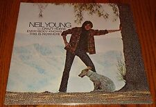 "NEIL YOUNG WITH CRAZY HORSE EVERYBODY KNOWS THIS IS NOWHERE 12"" LP STILL SEALED!"