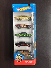 Hot Wheels 2017 HW Flames 5-Pack Rare VHTF FREE SHIPPING