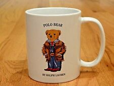 Polo Bear Ranch Bear Ralph Lauren Mug Blazer Teddybear Vintage 1997 Coffee Cup