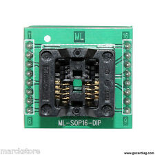 EEPROM ADATTATORE SOIC-8 to DIP 8 sop-16p SMD SOIC X XPROG WILLEM gq-4x