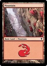 20x*Basic Land*Mountain*Zendikar*NM/SP*x20*#245a*Magic the Gathering MTG*FTG