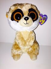 TY REBEL MEERKAT BEANIE BOOS-NEW, PURPLE MINT TAG, RETIRED, VERY HARD TO FIND