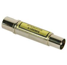Philex VHF / UHF 24 dB fisso dell' attenuatore Cavo Coassiale Spina A SOCK.