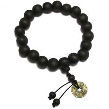 Wood Buddha Buddhist Prayer Beads Tibet Bracelet Mala Bangle Wrist Ornament TO