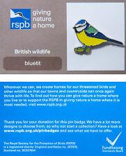 RSPB Pin Badge   Blue Tit   GNaH backing card [00084]