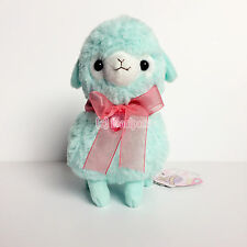 "AMUSE Girly Kids Alpacasso ""Sora-chan"" Blue Boy (16cm) Alpaca Arpakasso Plush"