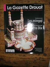 La Gazette Drouot N°5 2010 1005 les mingpi Otto Dix Sandra Mulliez Lautréamont