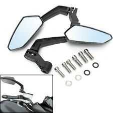 Universal Motorcycle Handle Bar End Rearview Side Mirror For Honda Yamaha 8/10mm